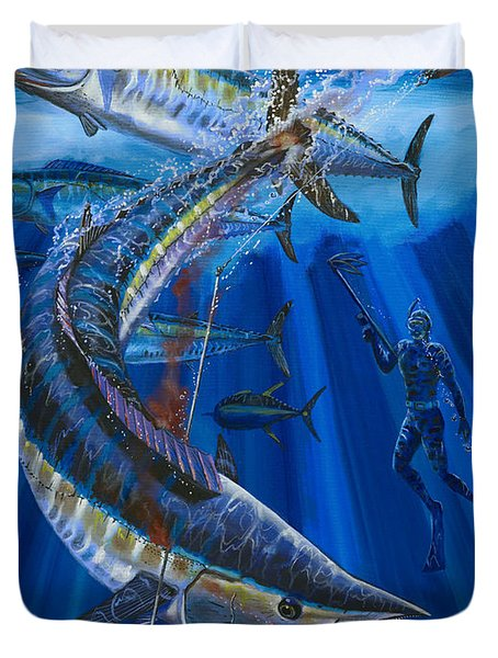 Wahoo Spear Duvet Cover