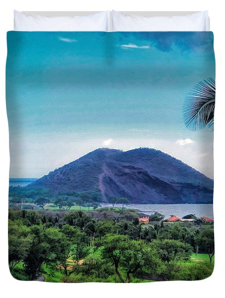 Wailea Golf 6 Duvet Cover