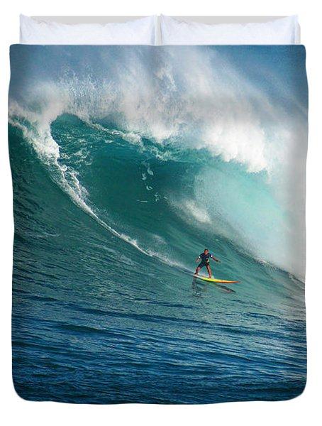 Waimea Bay Hawaii Duvet Cover by Kevin Smith