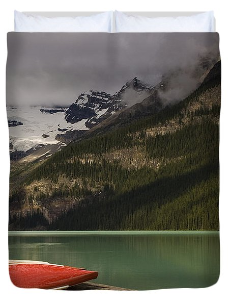 Waiting Duvet Cover by Dee Cresswell