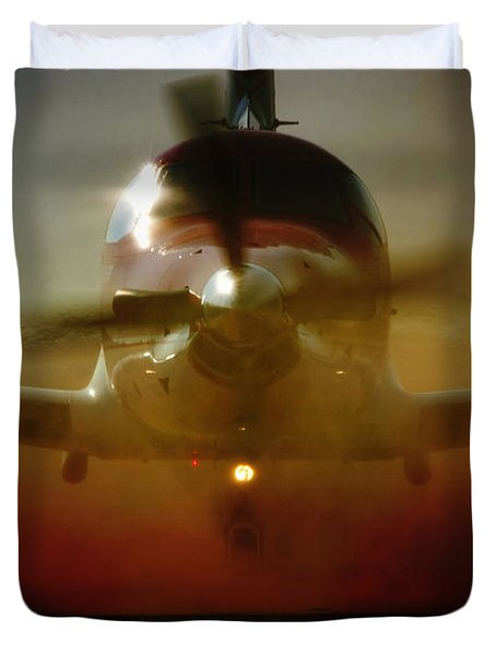 Waiting For Mercy Duvet Cover