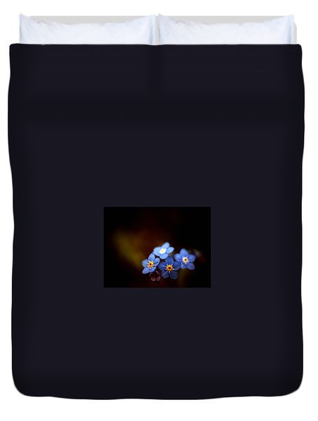 Duvet Cover featuring the photograph Waiting For The Light by Rachel Mirror
