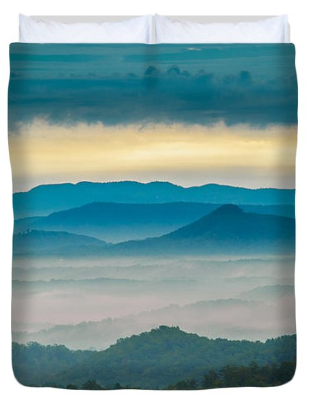 Duvet Cover featuring the photograph Waiting For The Sun by Joye Ardyn Durham