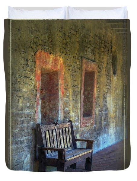 Waiting Duvet Cover by Joan Carroll