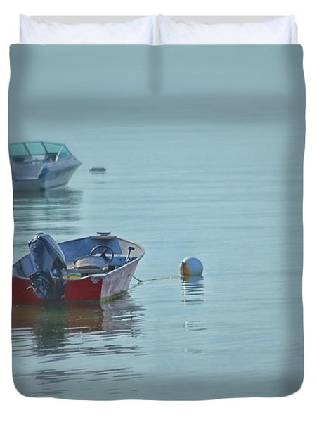 Waiting Duvet Cover by Karol Livote