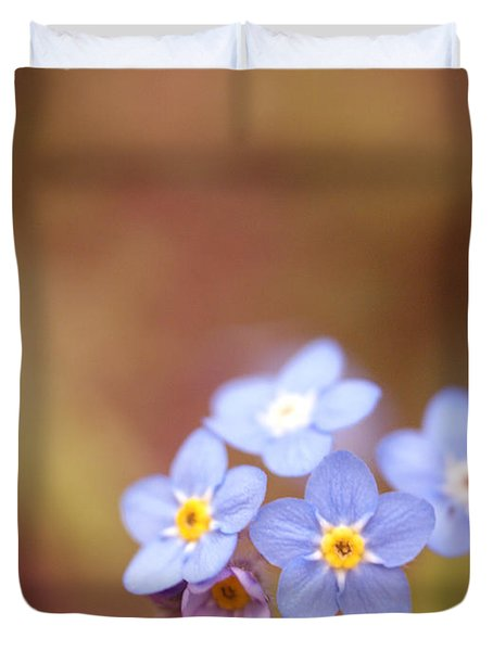 Duvet Cover featuring the photograph Waiting by Rachel Mirror