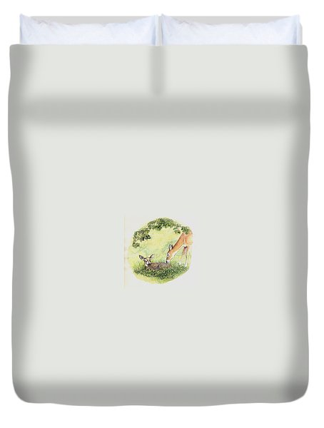 Wake Up Sleepyhead Duvet Cover