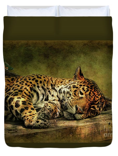 Wake Up Sleepyhead Duvet Cover