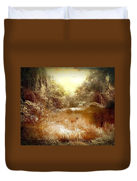Walden Pond Duvet Cover