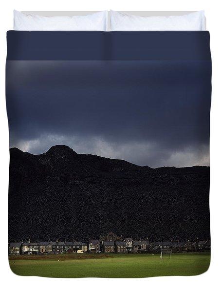 Wales Duvet Cover by Shaun Higson