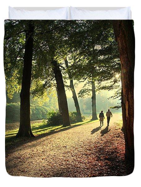 Walk Duvet Cover