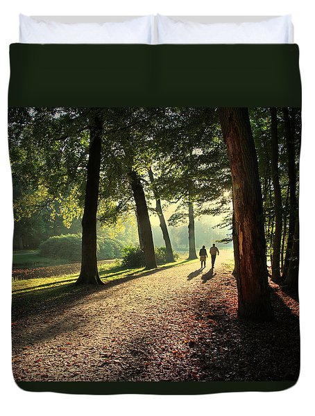 Walk Duvet Cover by Annie Snel
