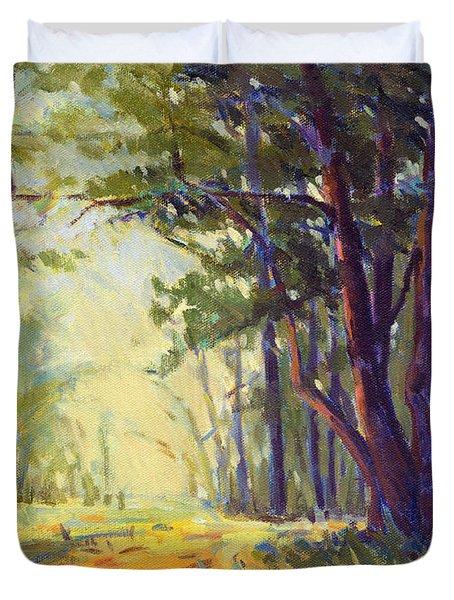 Walk In The Woods 5 Duvet Cover