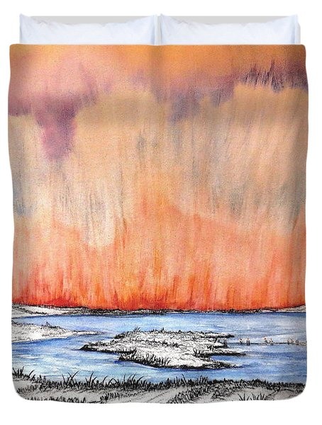 Walk Of Change Duvet Cover