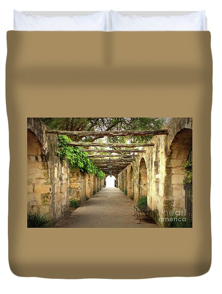 Walk To The Light Duvet Cover