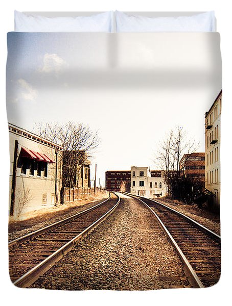 Walkers Point Railway Duvet Cover