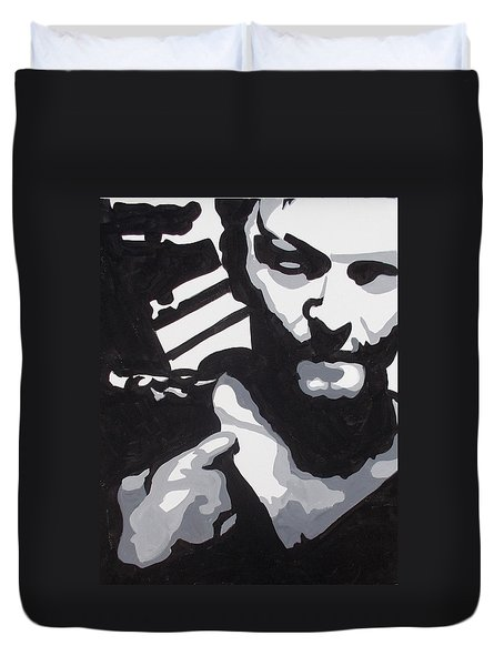 Walking Dead Daryl Close Duvet Cover