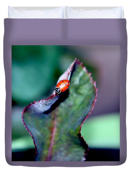 Walking The Thorny Edge Duvet Cover