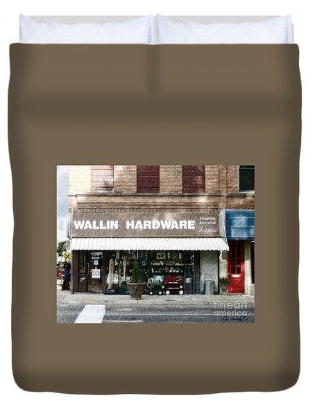 Wallin Hardware Duvet Cover