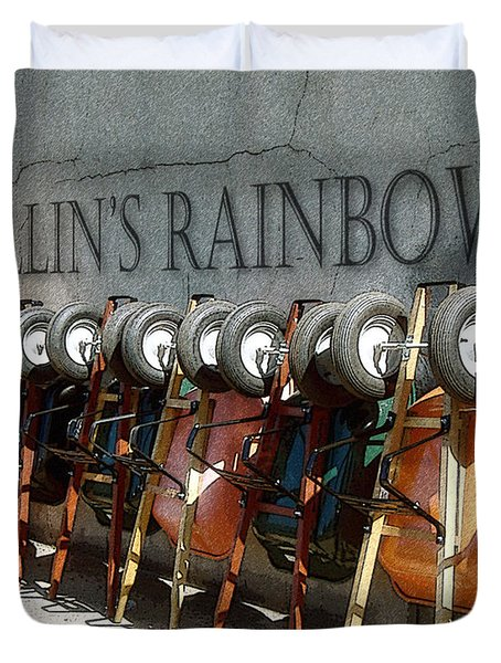 Wallin's Rainbow Duvet Cover