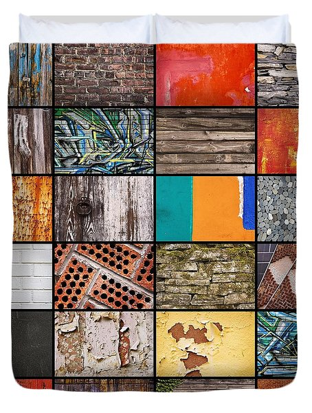Walls Duvet Cover
