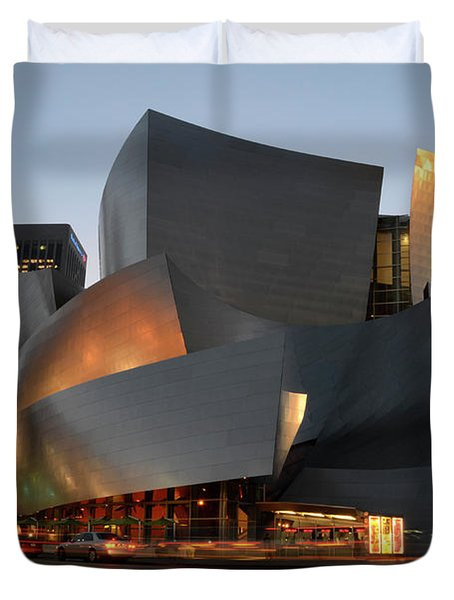 Walt Disney Concert Hall 21 Duvet Cover