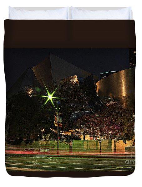 Walt Disney Concert Hall  Duvet Cover