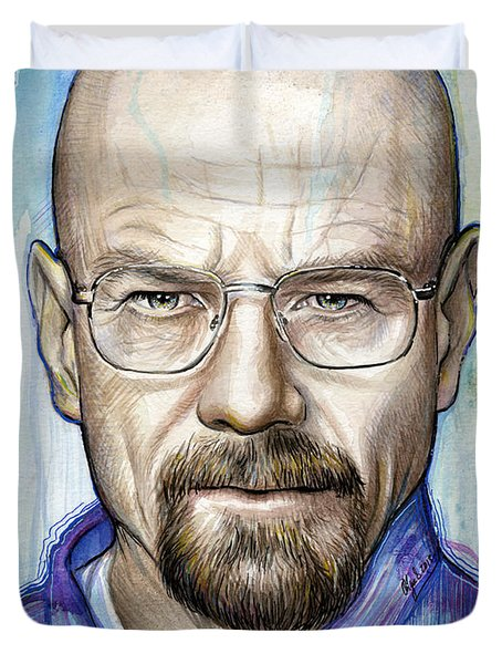 Walter White - Breaking Bad Duvet Cover