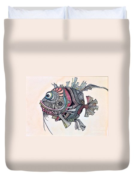 Wanda The Fish Duvet Cover