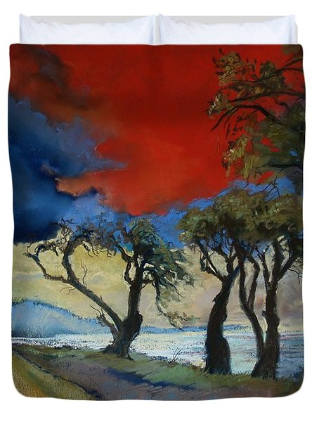 Wander Where The Wind Blows Duvet Cover by Robin Maria Pedrero