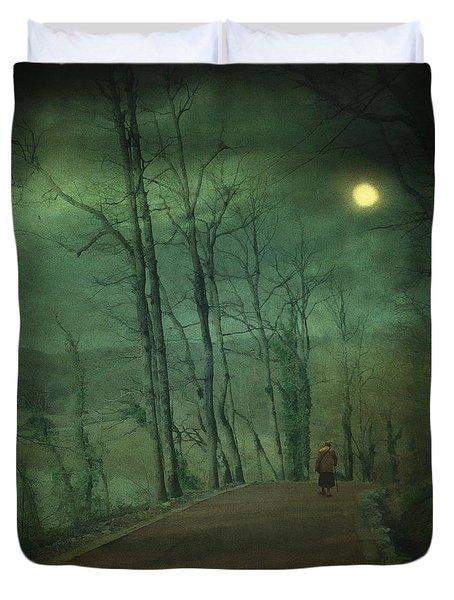 Wanderer Duvet Cover by Taylan Apukovska