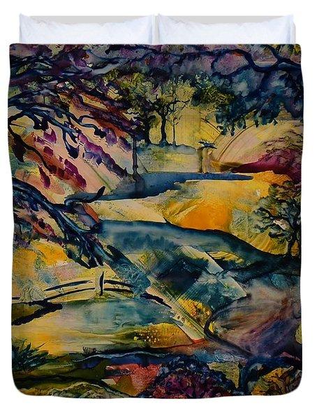 Wandering Woods Duvet Cover