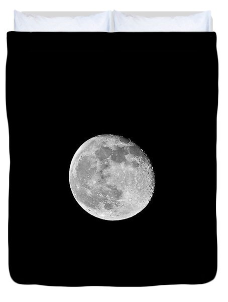 Waning Flower Moon Duvet Cover by Al Powell Photography USA
