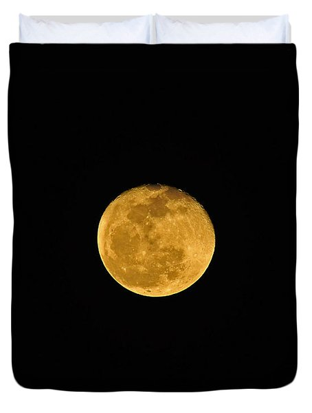 Waning Passover Moon Duvet Cover by Al Powell Photography USA