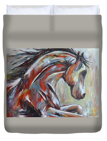 War Horse Duvet Cover