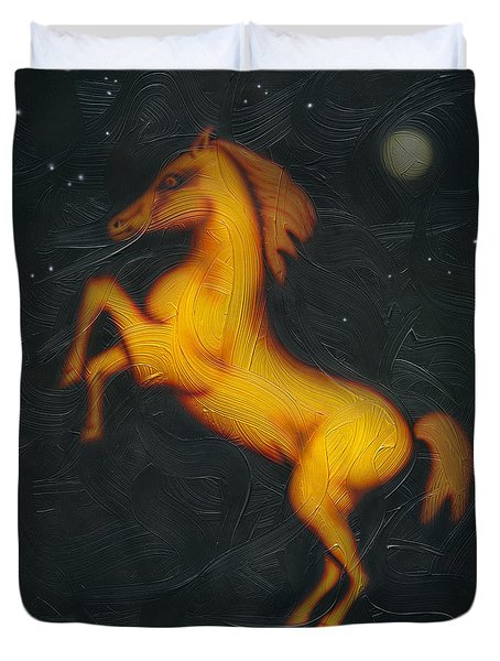 War Horse. Duvet Cover