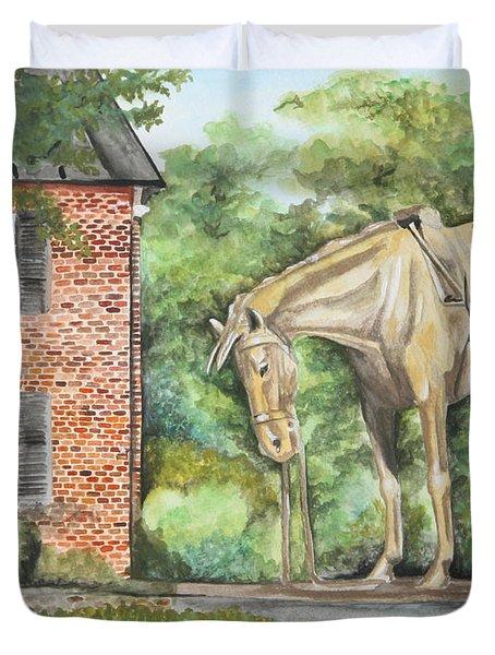 War Horse Memorial Duvet Cover