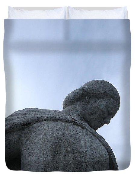 War Memorial  Duvet Cover by Cheryl Hoyle