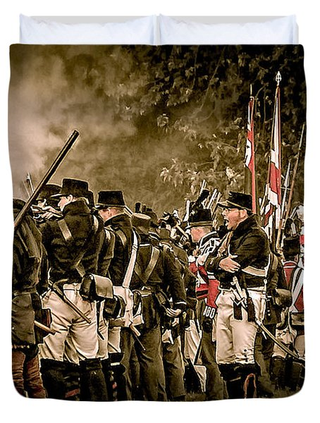 War Of 1812 Duvet Cover by Bianca Nadeau