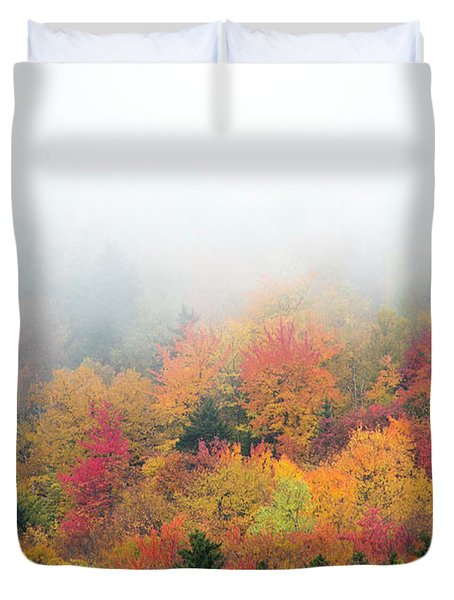 Warm Autumn Colors Blanket The Tree Duvet Cover