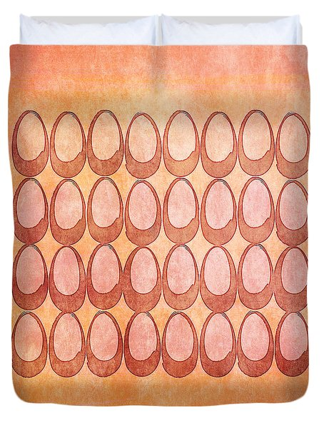 Warm Eggs Duvet Cover