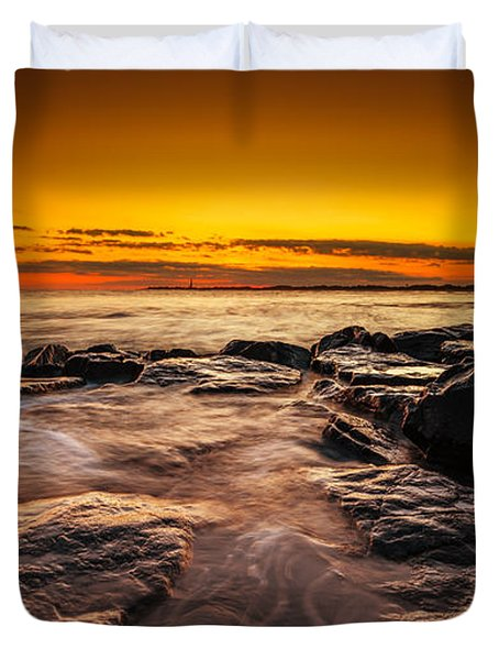 Warm Summer Glow  Duvet Cover