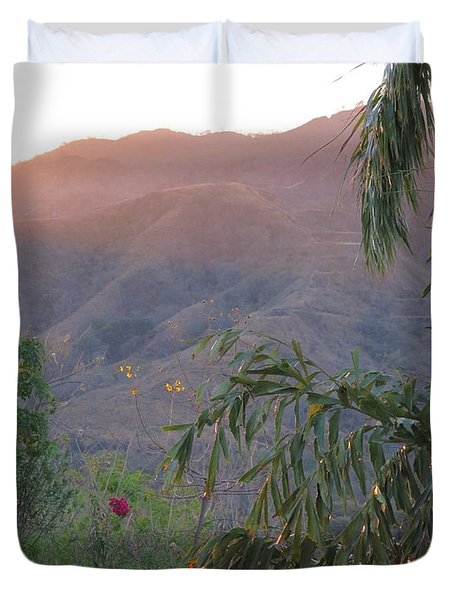 Warm Sunrise Duvet Cover