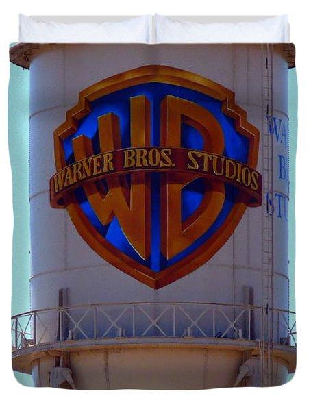 Warner Bros Studios Duvet Cover