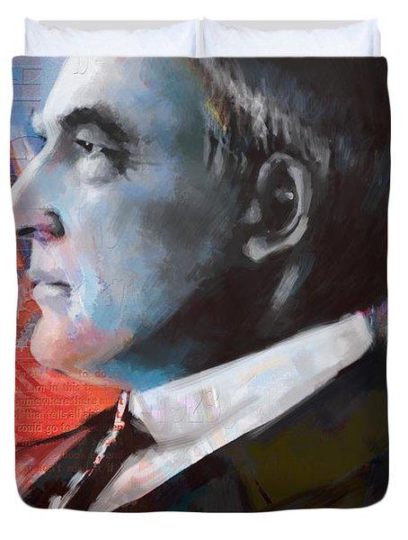 Warren G. Harding Duvet Cover by Corporate Art Task Force