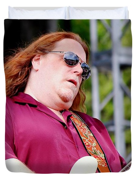 Warren Haynes Duvet Cover