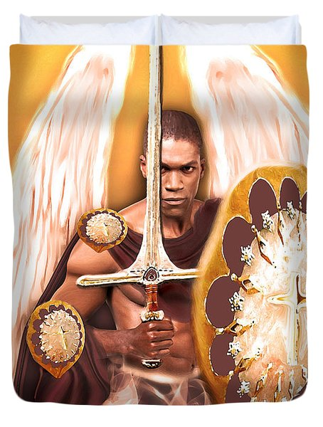 Warrior Angel Duvet Cover
