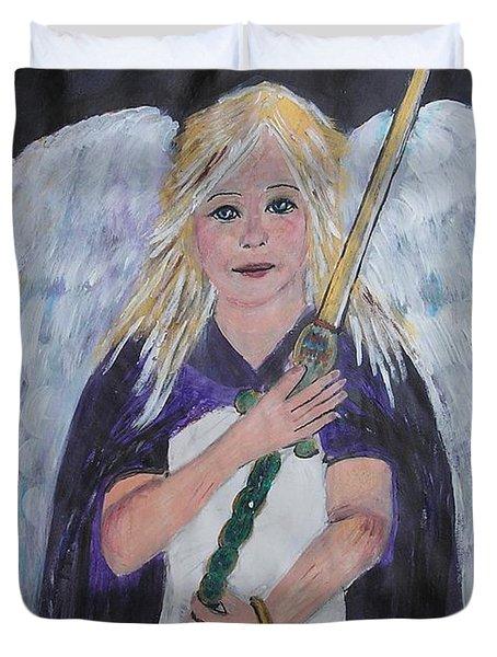 Warrior Angel Duvet Cover