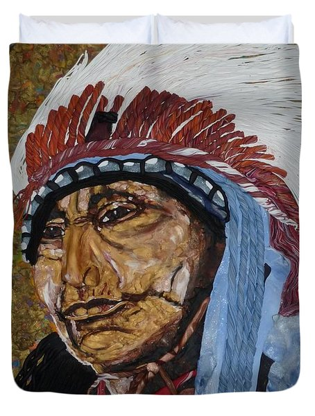 Warrior Chief Duvet Cover