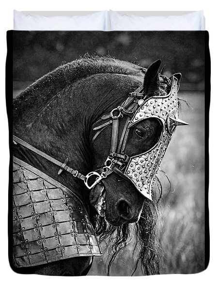 Warrior Horse Duvet Cover